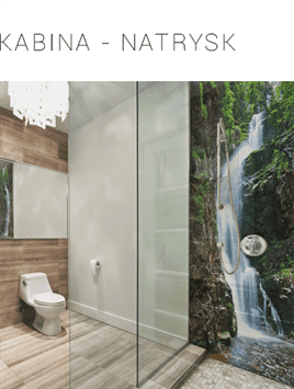 panel szklany, kabina prysznicowa