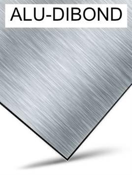 Aluminium dibond, tubond