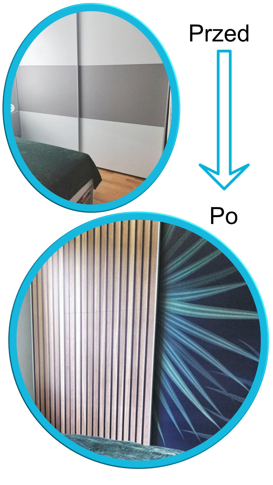 Metamorfoza szafy, Easy Stick okleina samoprzylepna